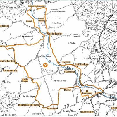 Circuit des Moulins 12,5 Km