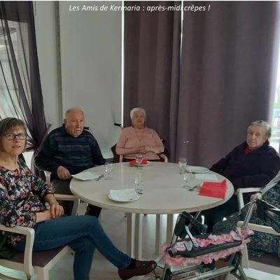 Les Amis de Kermaria : photos de l''après-midi crêpes !