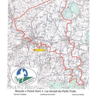 Randonnée équestre : circuit du Petit Train ( 31 km)