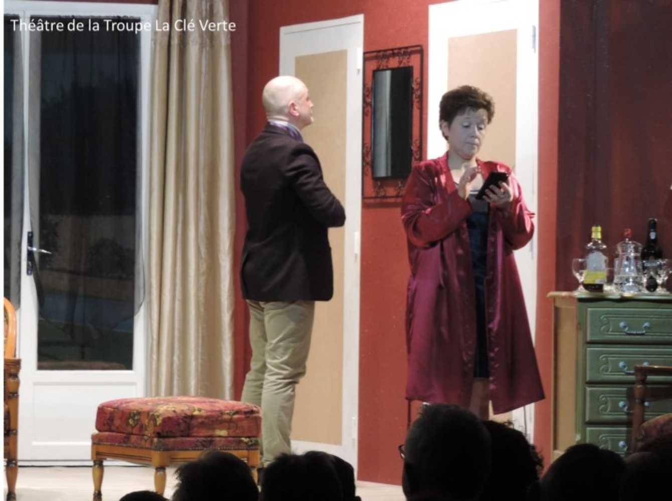 Troupe de théâtre la Clé Verte : photos des représentations image3