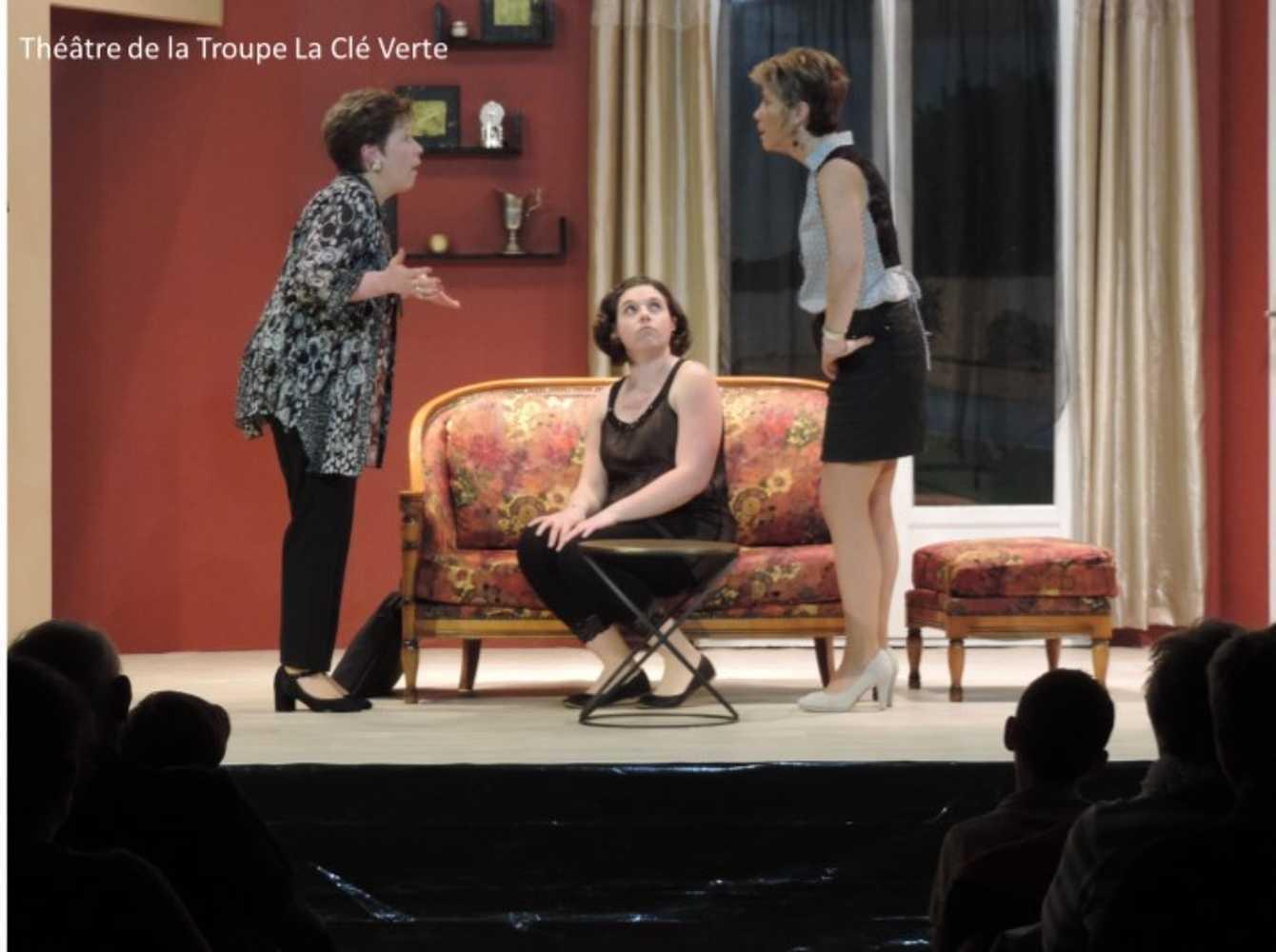 Troupe de théâtre la Clé Verte : photos des représentations image8