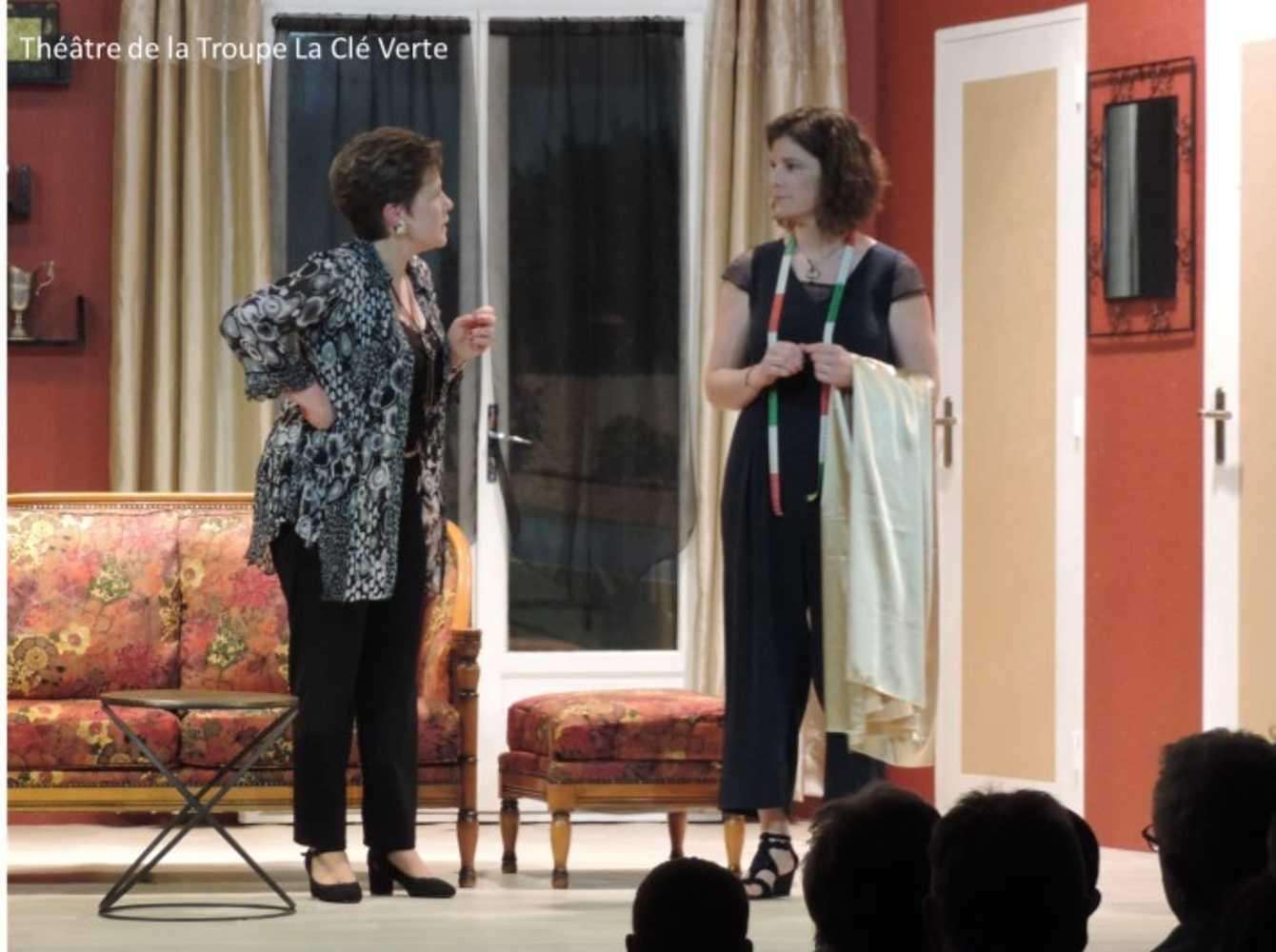 Troupe de théâtre la Clé Verte : photos des représentations image9